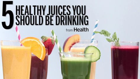 5 Juices You Should Be Drinking
