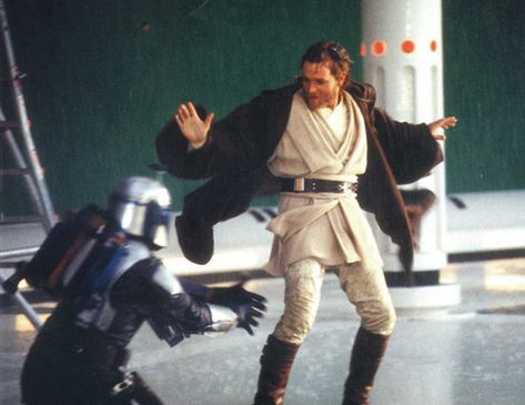 40 photos from the making of the STAR WARS Saga (1999-2005). May the Fourth Be With You!