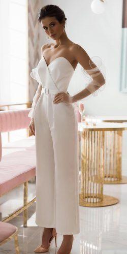 Trend 2019: 27 Wedding Pantsuit And Jumpsuit Ideas ★