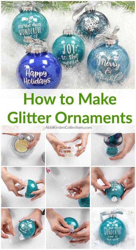 DIY Glitter Ornaments: How to Make Your Own Custom Ornaments