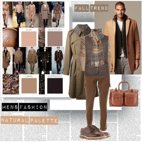 Fall Men's Trend Natural Palette by stylepersonal on Polyvore featuring moda, Paul Smith, Banana Republic, Lemaire, DUBARRY, Ghurka, CO, MensFashion and fall2014