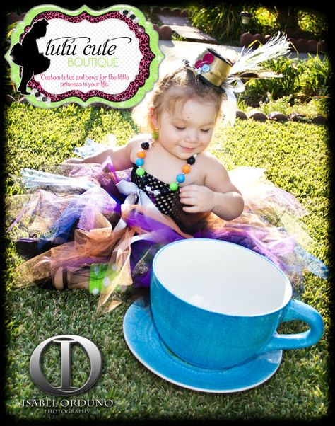 Mad Hatter Inspired Alice in Wonderland by TutuCuteBoutiqueEtsy, $100.00