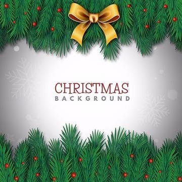 Merry Christmas Vector Background Festival Wallpaper