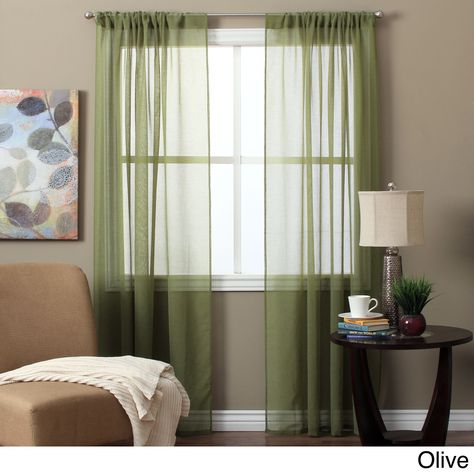 Lucerne 63 Inch Sheer Curtain Panel