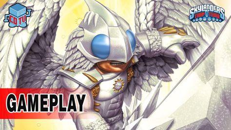 Skylanders Trap Team LIGHT Element Expansion Gameplay #skylanders #toys #collecting #videogame