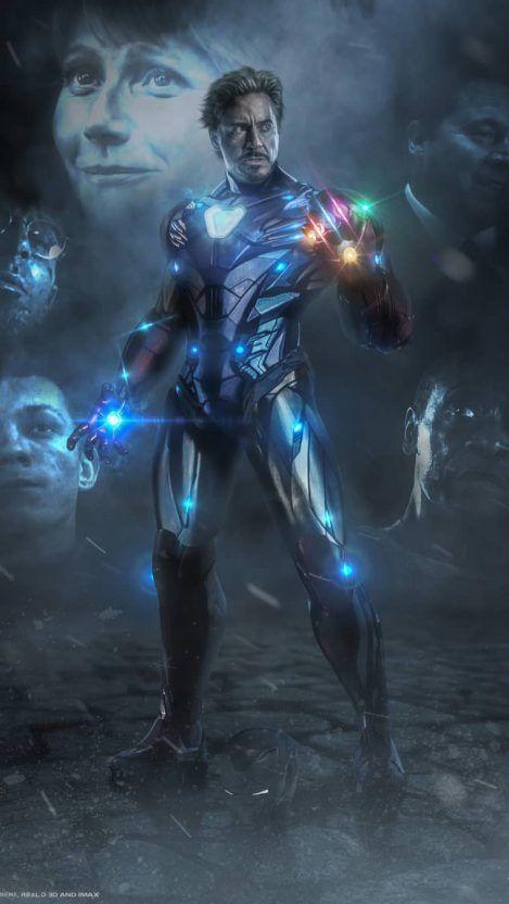 Iron Man Infinity Stones Avengers Endgame Iphone Wallpaper Iphone Wallpapers Marvel Superheroes Marvel Avengers