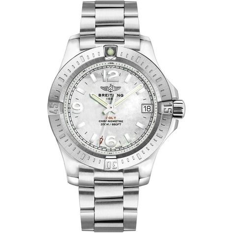 Breitling Women's 'Colt' Stainless Steel Watch, Silver Size: One Size Fits All