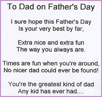 Funny Fathers Day Poems From Teenage Daughter Happy Father Day Quotes Happy Fathers Day Poems Fathers Day Poems