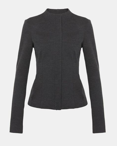 26376cd1014 Theory Knit Twill Sculpted Jacket | Products