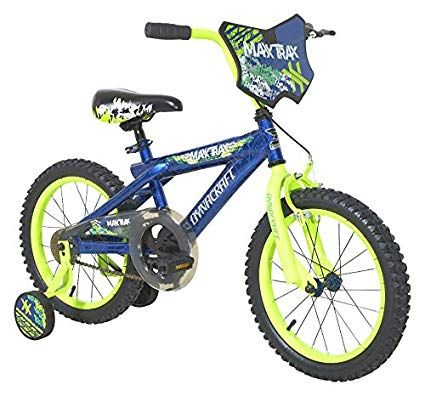 Dynacraft 8056 89tj Maxx Trax Bike 16 Blue Review With Images