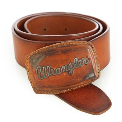 Vintage look, for modern times. This tanned, cognac leather