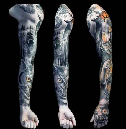 37 Ideas For Tattoo Ideas Unique Creative Sleeve Full Sleeve Tattoo Design Tattoo Sleeve Designs Full Sleeve Tattoos