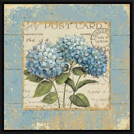 Ptm Images Thinking Of You I Walmart Com In 2020 Vintage Floral Wall Art Floral Wall Art Canvas Art Prints