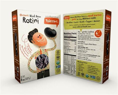 Tolerant - Organic Black Bean Rotini Pasta