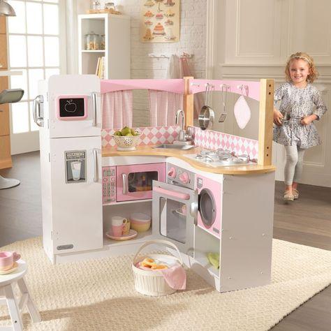 3ef5e474d5853 Cocina de juguete de madera para esquina modelo Gran Gourmet de la ...