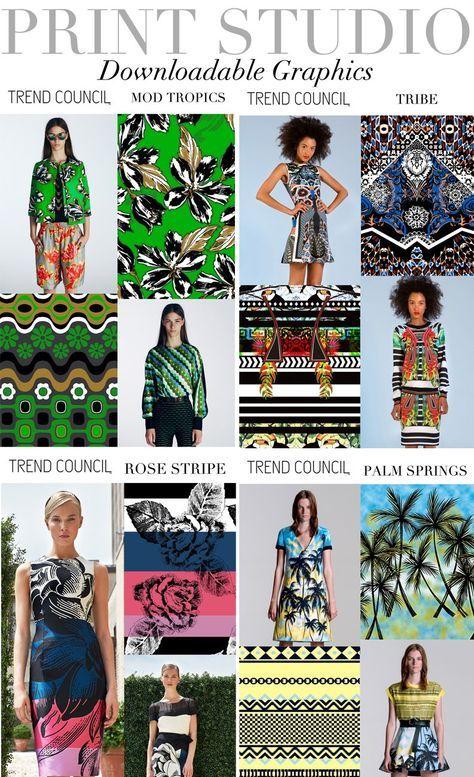 Farb-und Stilberatung mit www.farben-reich.com - TREND COUNCIL- PRINT STUDIO