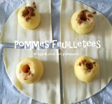 Pommes feuilletées - Mon Show...colat, mes gourmandises