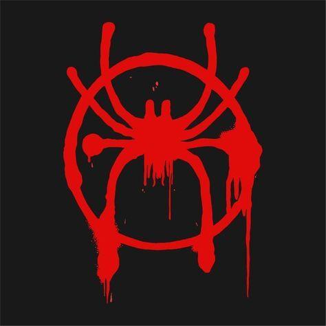 Spider Verse Logo Vector Digital Download Spiderman Drawing Spiderman Tattoo Spider Verse