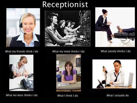 Beeldvorming over de Receptionist