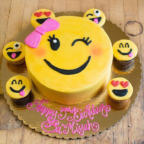 Emoji Cupcakes Cake Bredenbeck S Wedding Cakes