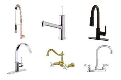 A Stylish Kitchen For Less 10 Great Looking Kitchen Faucets Under 200 Stylish Kitchen Kitchen Faucet Faucet