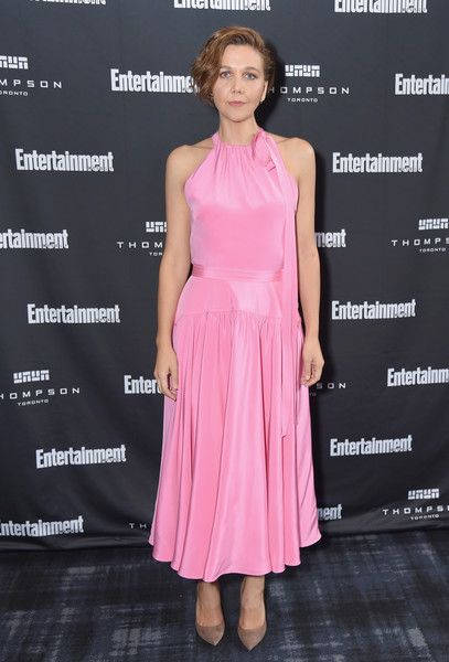 Maggie Gyllenhaal attends Entertainment Weekly's Must List Party at the Toronto International Film Festival 2018.