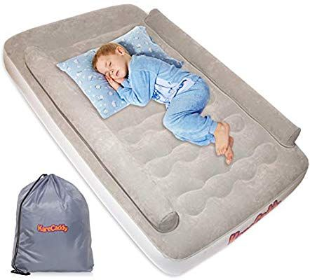 Amazon Com Karecaddy Toddler Air Mattress With Built In