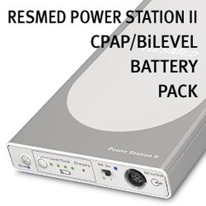 Resmed Power Station Ii Battery Pack For Cpap Bilevel Machines