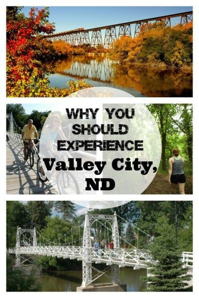 Why You Should Experience Valley City Nd Postcards Passports Valley City Riverside Path Travel Usa