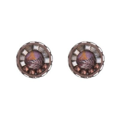 474af161bf55a Ayala Bar Mother Earth Cute as a Button Earrings   Products   Button ...
