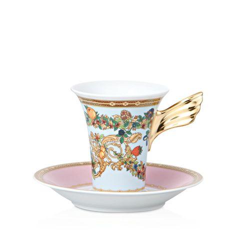 Rosenthal Meets Versace Butterfly Garden High Teacup
