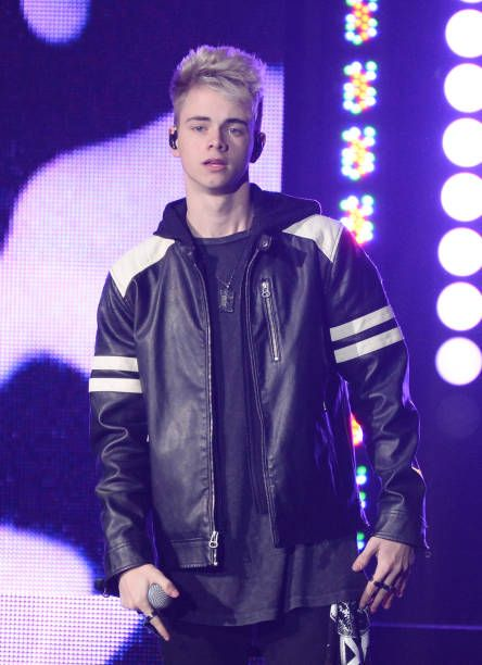 Corbyn Besson Of Why Don T We Performs Onstage During 1035 Kiss