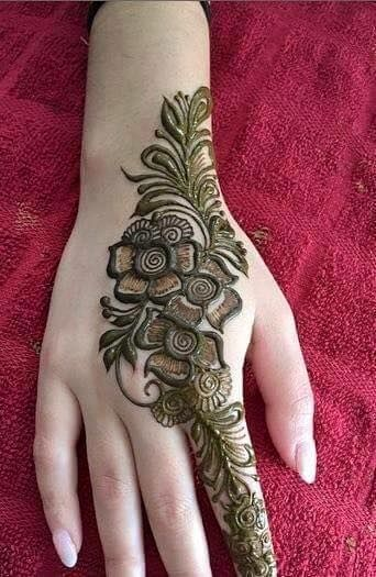 Stylish Flower Henna Designs For Hands New Ideas 2019 Mehndi Designs New Mehndi Designs Henna Designs