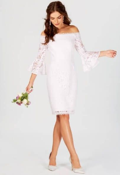 60 Best Casual Wedding Dresses For Second Marriages 2019 Plus Size Women Fashion Casual Wedding Dress Informal Wedding Dresses 2nd Marriage Wedding Dress