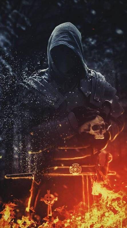 Fire Man Infinite Art Joker Hd Wallpaper Dark Fantasy Art