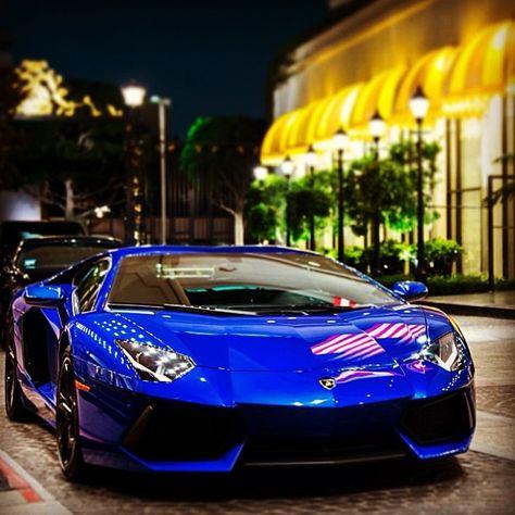 Hot Blue Aventador EN EL COLOR QUE MAS ME GUSTA