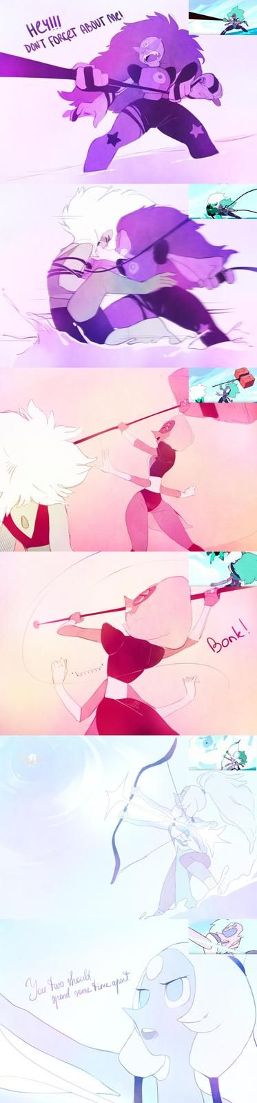 This fight was so awesome, and alexandrite finally got the episode she deserved! :3