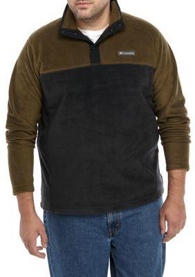 Columbia Big & Tall Flattop Ridge Big Fleece Pullover Jacket