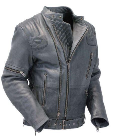 New Cruiser Vented Leather Jacket Handmade Biker Leather Jacket Leather Jacket Men S Leather Jacket Best Leather Jackets