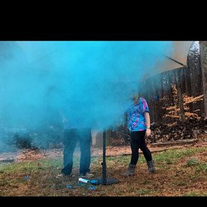 24 Confetti Powder Cannon Gender Reveal Both Smoke Etsy Gender Reveal Gender Reveal Smoke Gender