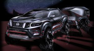 Nissan Navara Dark Sky Concept Packs Plenty Of Star Power Thanks Its To Observatory Class Telescope Carscoops Nissan Navara Nissan Concept Car Design