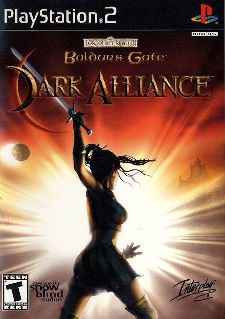 Baldur S Gate Dark Alliance Ps2 Iso Rom Download Baldur S Gate