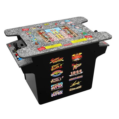 Street Fighter 2 Head Table Countertop Arcade Game In 2020