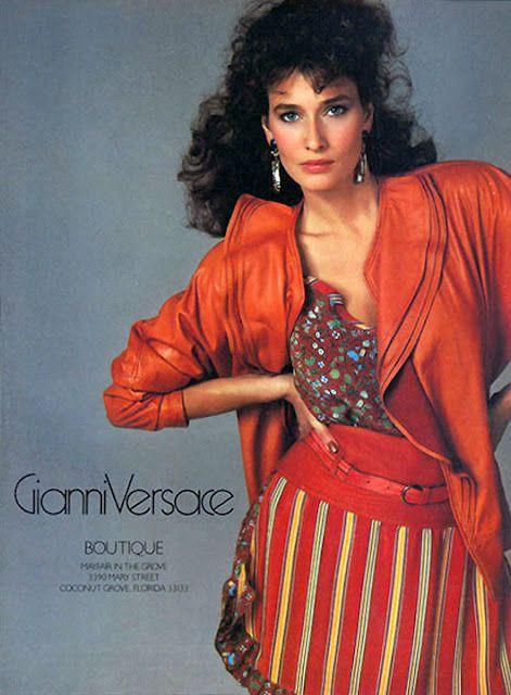 Versace Spr/Sum 1982 - Rosemary McGrotha by Richard Avedon