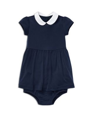 7d560478 Ralph Lauren Girls' Collared Dress & Bloomers Set - Baby ...