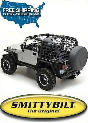 Smittybilt C Res System Cargo Net Blk Diamond For 92 95 Jeep Wrangler Yj 521035 Jeep Wrangler Yj Jeep Wrangler Jeep