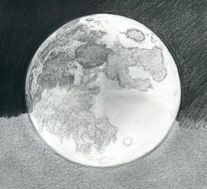 Pin By Lucy Maidana On Dibujo Moon Drawing Moon Sketches Pencil Art Drawings