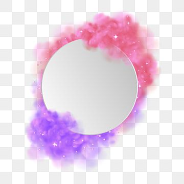 Gradient Smoke Frame Vector Smoke Cloud Sparkle Png And Vector With Transparent Background For Free Download Sparkle Png Free Vector Graphics Cute Frames