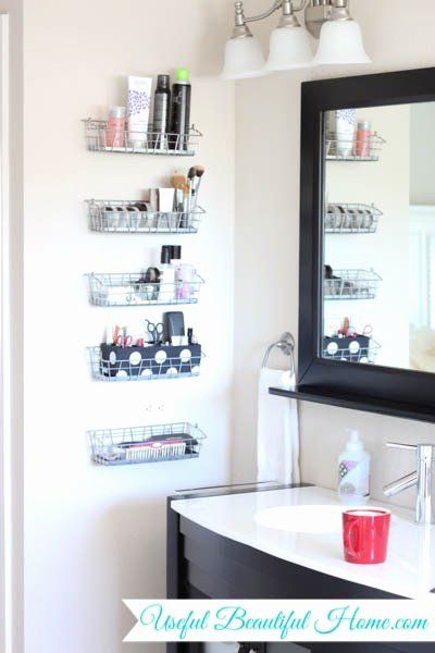 Bathroom Towel Storage Furniture Lovely 18 Alluring Ways To Organize A Bathroom Without Drawer Bathroom Wall Storage Diy Bathroom Storage Bathroom Organisation
