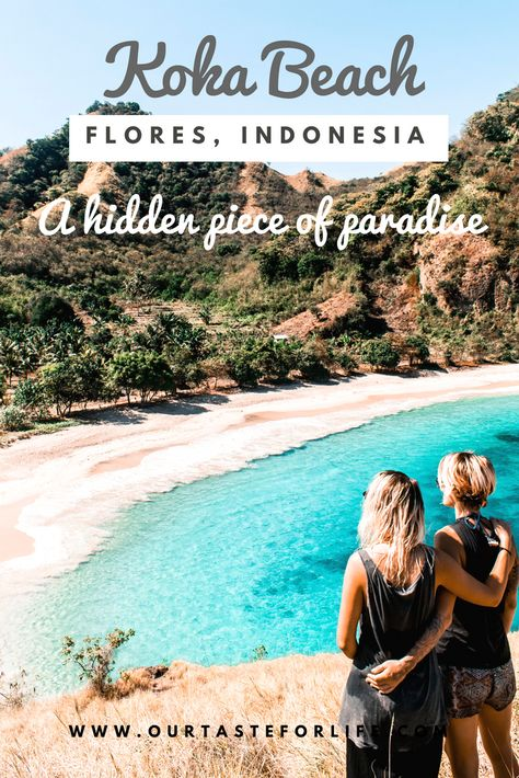 EVERYTHING YOU NEED TO KNOW FOR KOKA BEACH IN FLORES, INDONESIA